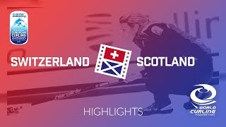 HIGHLIGHTS: Switzerland v Scotland - Women - Le Gruyère AOP European Curling Championships 2018