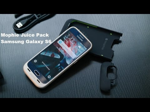 release date 6ea01 61744 Mophie Samsung Galaxy S6 Juice Pack Review