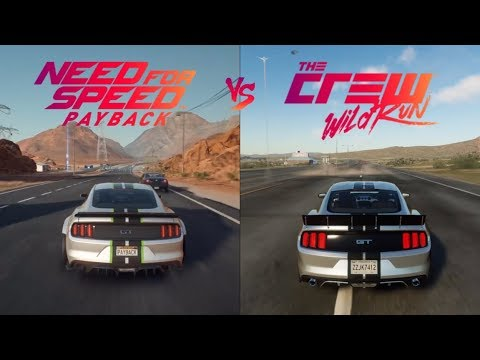 need for speed payback vs the crew side by side gameplay. Black Bedroom Furniture Sets. Home Design Ideas