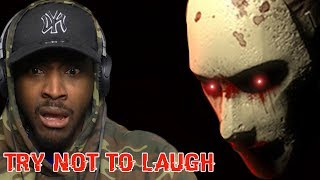 Try Not To Laugh HORROR GAMES EDITION