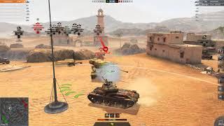 World of Tanks Blitz lttb 5v1