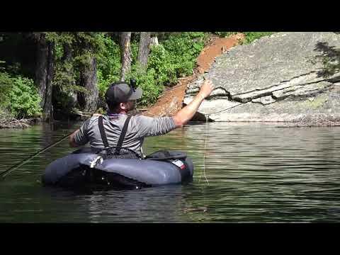 Montana backcountry fishing - 2018 Yellowstone Cuts