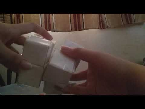My homemade paper 2 x 2 rubiks cube