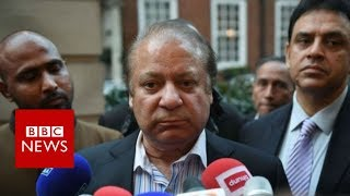 Pakistan ex-PM Nawaz Sharif given 10-year jail term - BBC News