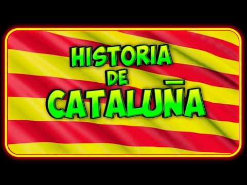 🌍 HISTORIA de CATALUÑA hasta 2018 -  Resumen RÁPIDO y SENCILLO (Comedia)