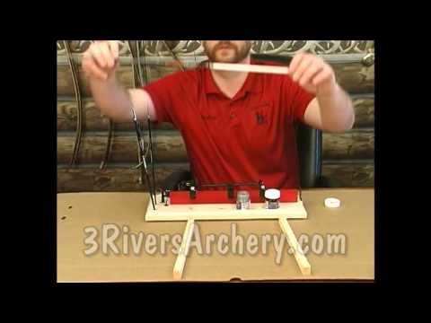3Rivers Archery Bohning Cresting Jig