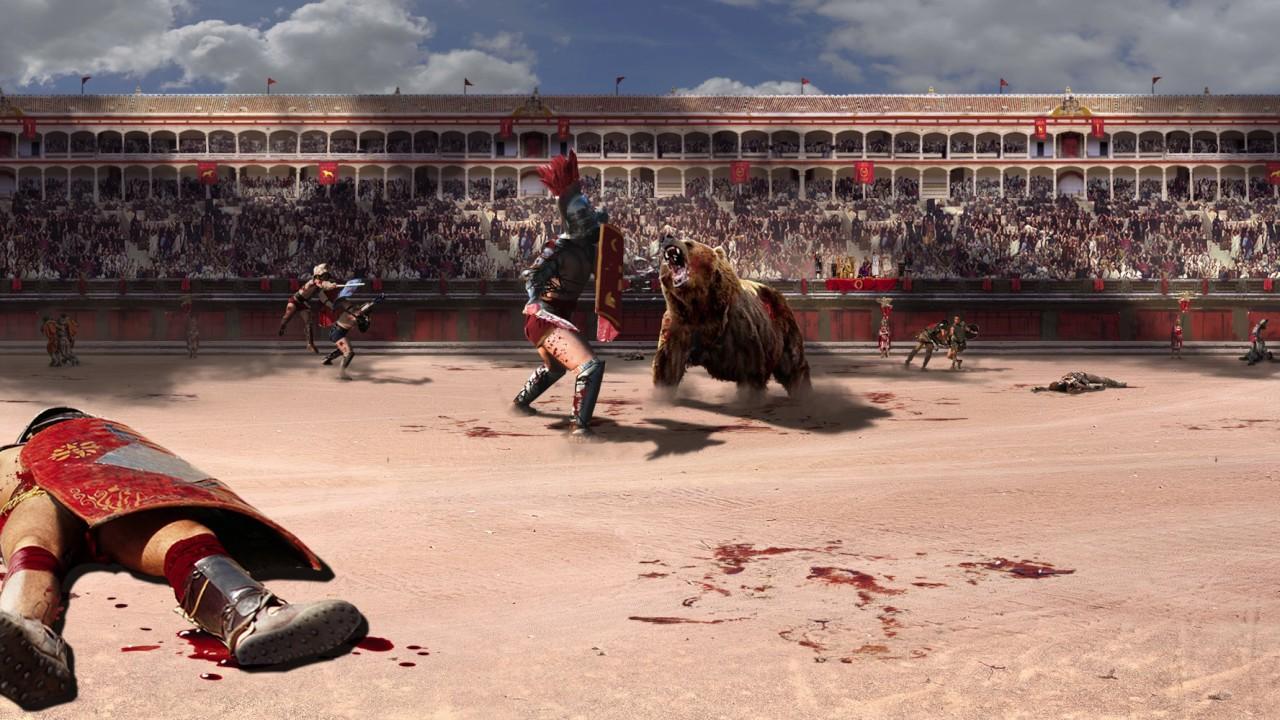 360 Concept Art Gladiator By Nick Hiatt