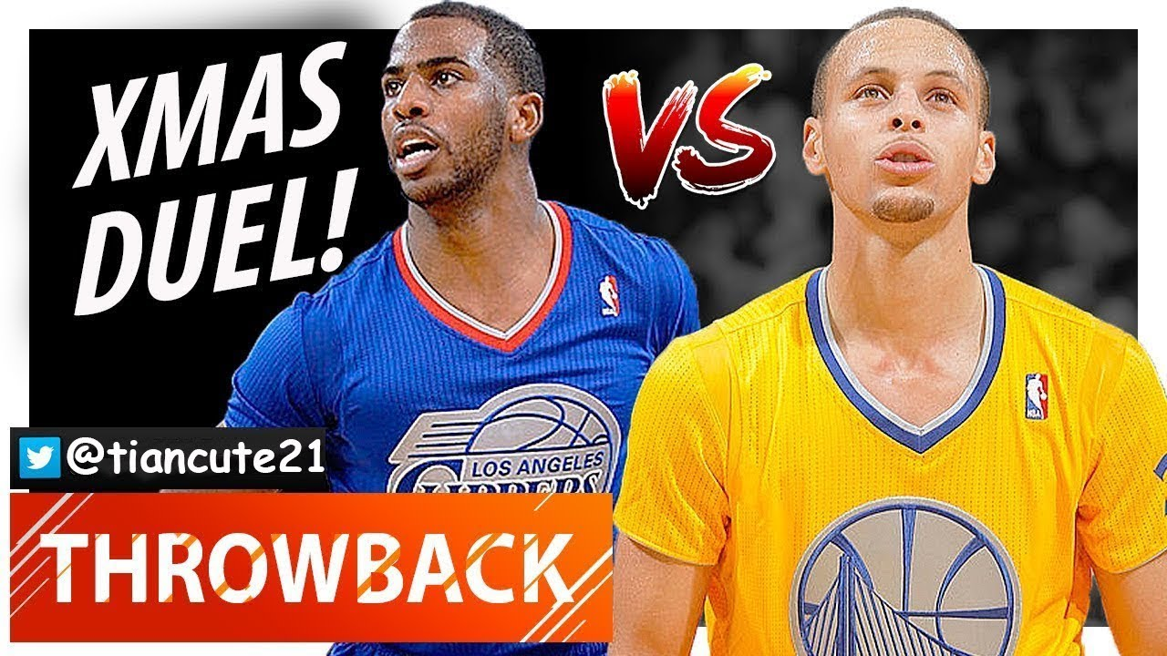 6d02bfb0f142 Throwback Stephen Curry vs Chris Paul XMAS Duel Highlights (2013.12.25) Clippers  vs Warriors - SICK