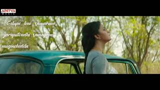 Mahanati/whatsapp status/Gelupuleni samaram lyrics