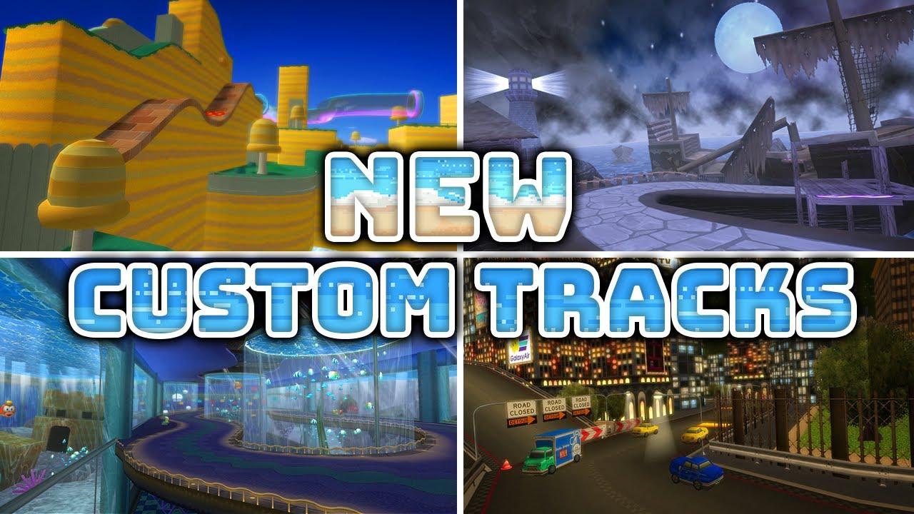Stunning NEW Custom Tracks Created for Mario Kart Wii! (July 2021)