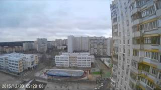 22h SJ7000 Action Camera Time Lapse Москва Бутово(, 2015-12-30T16:19:34.000Z)