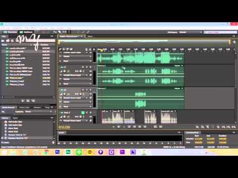 [LESSON] สอนมิกซ์เพลงเบื้องต้นด้วยโปรแกรม Adobe Audition EP.2 by PCMhee myStudioz