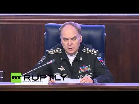 Russian Defence Ministry holds briefing  Detailing Turkey ISIS link