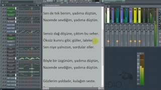 Nazende Sevgilim Altyapı Karaoke by Y.HAK ( İrem Derici Yorumu)