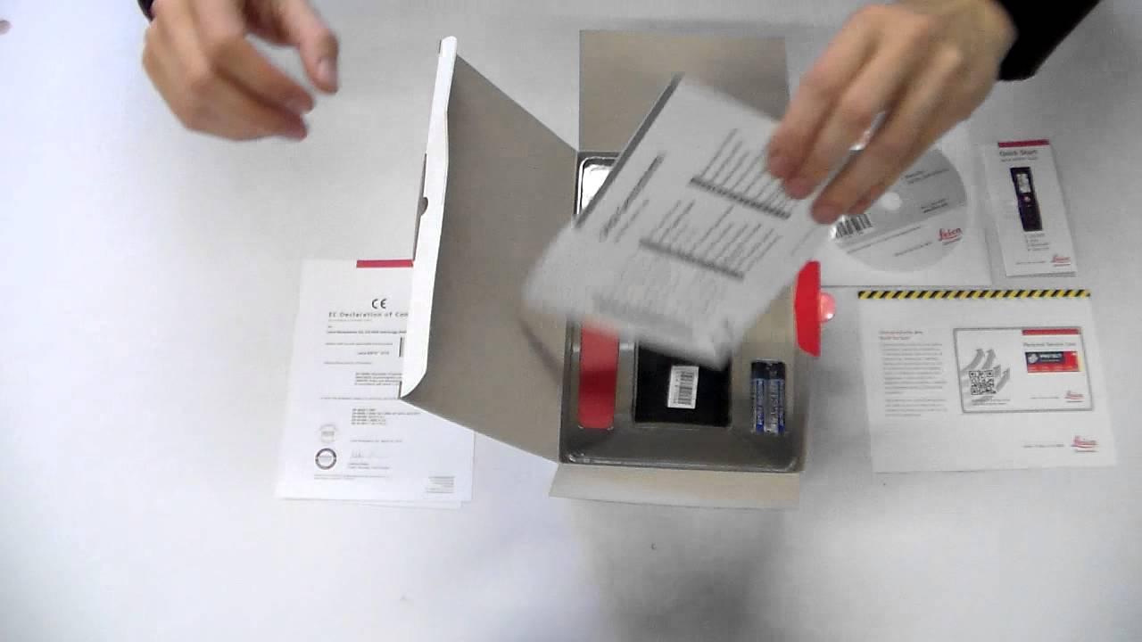 Leica Entfernungsmesser Disto D110 : Leica disto d unboxing bei messfreunde de youtube