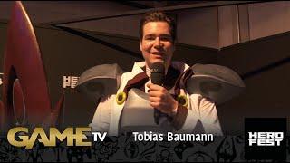 Game TV Schweiz - Tobias Baumann | Abbotsuncosplay | Besucher HeroFest  | HeroFest