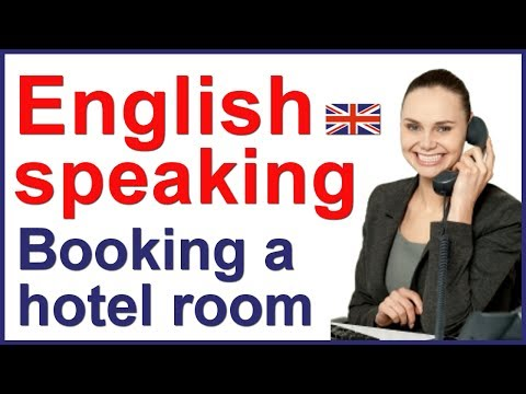 English conversation with subtitles | Hotel reservation Mp3