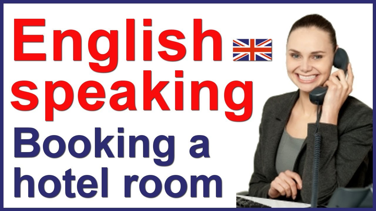English conversation with subtitles | Hotel reservation ...