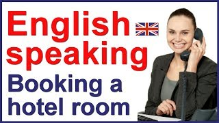 English conversation with subtitles | Hotel reservation