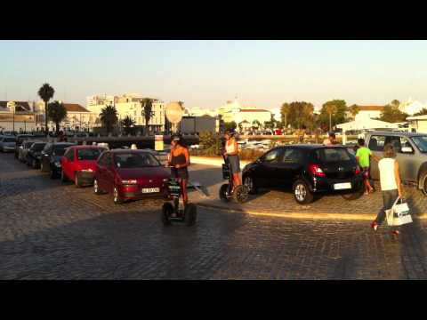 Cultural and Green Faro Segway Tour