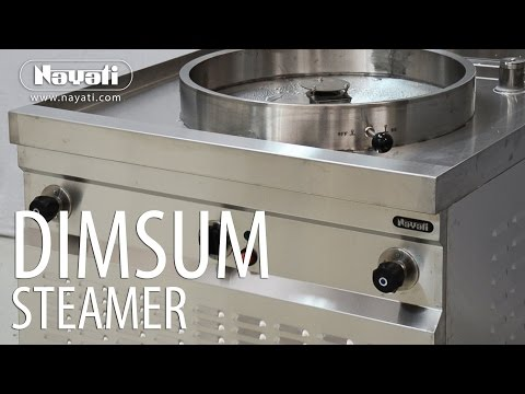 Cooking Dimsum With Nayati Gas Steamer