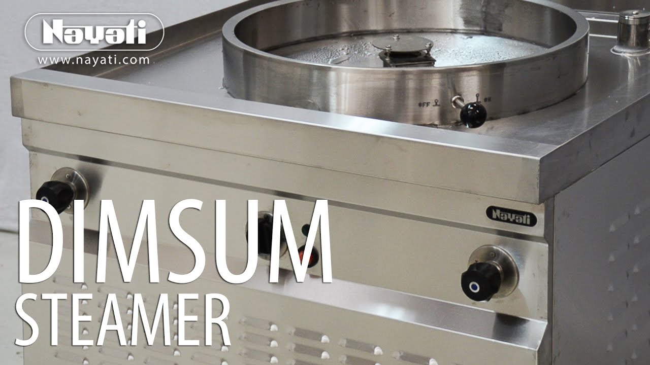Steamer Kitchen Utility Cart Cooking Dimsum With Nayati Gas Youtube