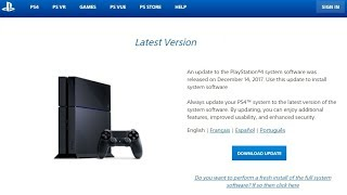 How To Update PS4 System Software Via USB (Quickest Tutorial) OPTIONAL METHOD!!!