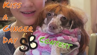 January 12 Contest/Special Day: #Kiss a Ginger Day