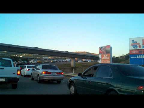 CA 91 Freeway Traffic