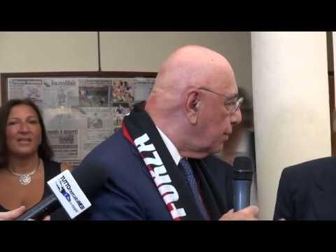 """Adriano Galliani: """"Ho visto Conte con la sciarpa rossonera..."""""""