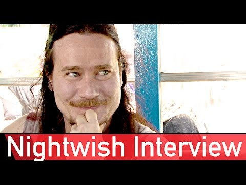 """No """"Nightwishes"""" in 2017 - Tuomas Holopainen Interview - ROCK ANTENNE"""