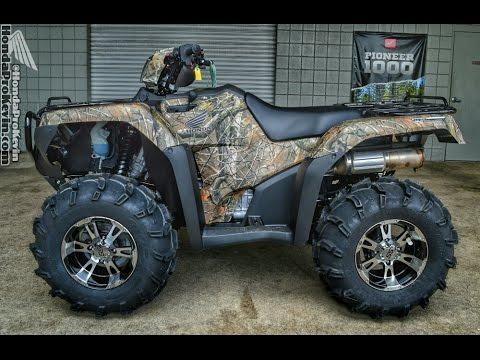 2016 honda rubicon 500 atv - itp ss112 wheels & itp mud lite xl tires |  trx500 foreman fourtrax 4x4