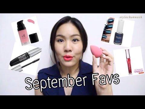 September Favrites 2014 ใช้แล้วชอบเดือนกันยายน 2557 *stylechonneeh