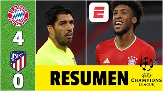 Bayern Munich 4-0 Atlético de Madrid DOBLETE de Coman. Goleada a los de Simeone | Champions League