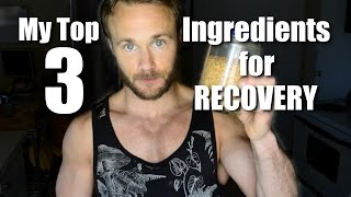 My Top 3 Smoothie Ingredients for Recovery | Easy & Cheap
