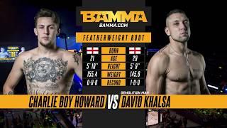 BAMMA 31: Charlie Boy Howard vs David Khalsa