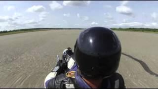 169.46mph Harley Powered Streetluge pass #5