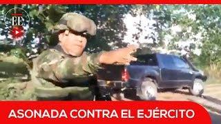 Así fue la arremetida contra miembros del Ejército en Tibú, Norte de Santander | El Espectador