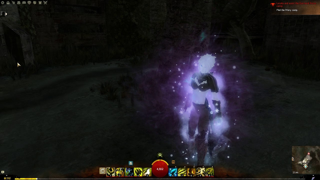 GW2] Crystal Infusion of Power combined with Snow diamond and