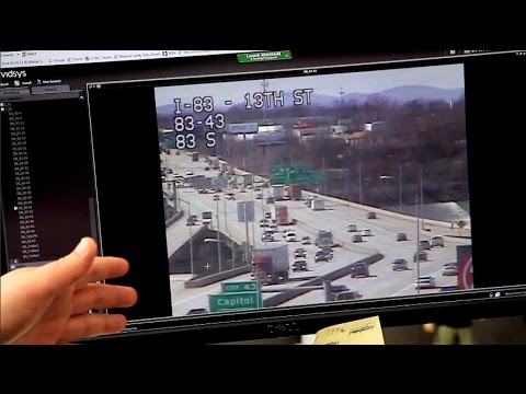 Why are there cameras on Pennsylvania's highways?