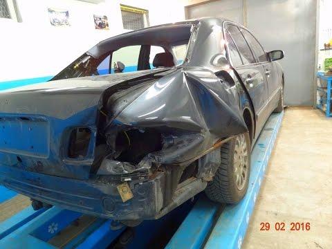 Mercedes. повреждения.