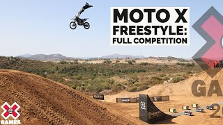 Moto X Freestyle: FULL COMPETITION   X Games 2021