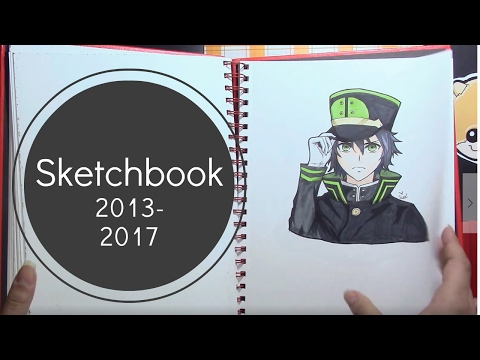 (FULL VOICE) Sketchbook flip through/ tour! |2013-2017|