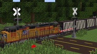 Railfanning in Minecraft 4