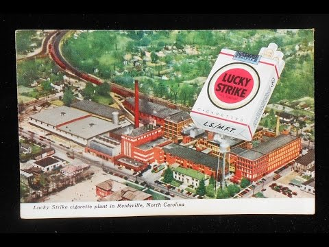 Lucky Strike Cigarette Factory / American Tobacco Company Reidsville, NC