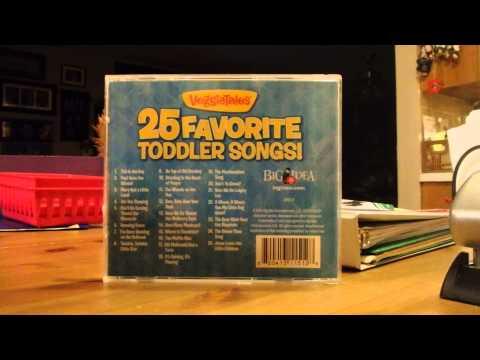 VeggieTales 25 Favorite Toddler Songs! Track List