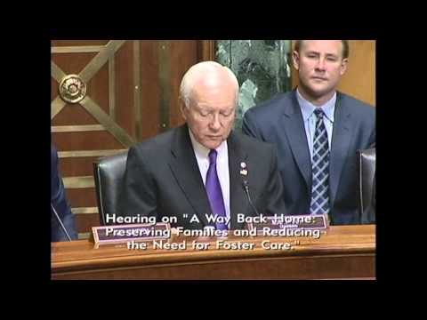 Senate Finance Committee convenes hearing on foster
