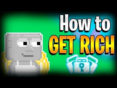 FAST PROFIT IN GROWTOPIA! How to get rich?!