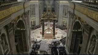 Pope Benedict XVI, Christmas Eve Mass, December 24, 2012