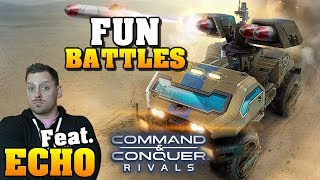 Command and Conquer: Rivals - Battle your Friends!! Fun Battles with ECHO Gaming!